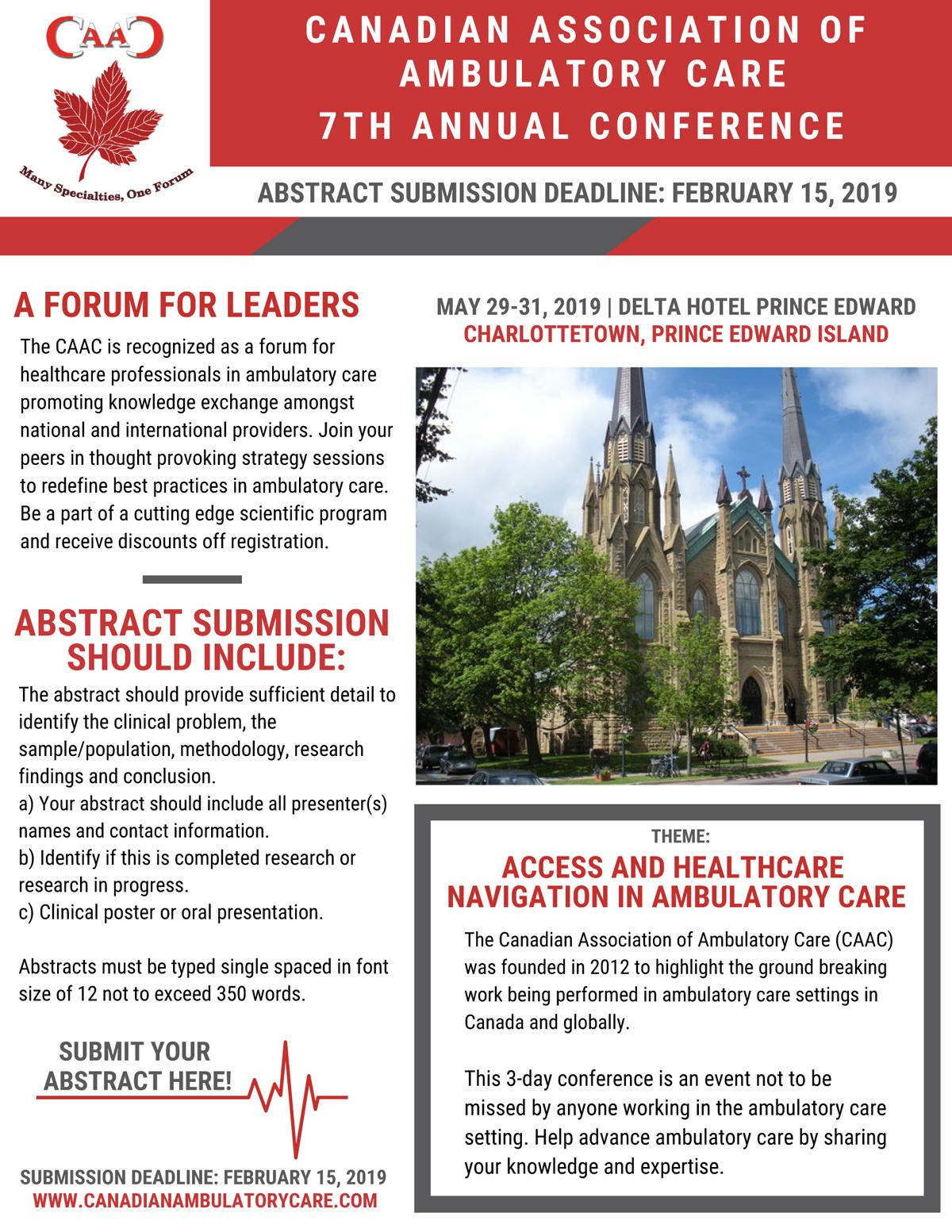 Canadian Association of Ambulatory Care
